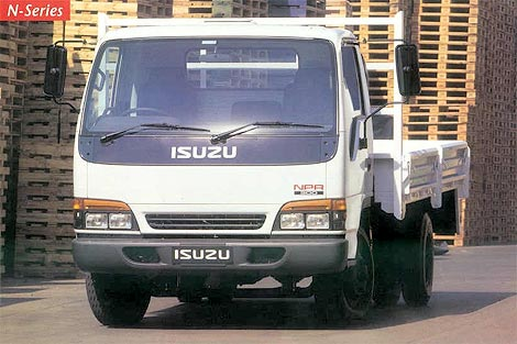 Isuzu N-Series: 12 фото