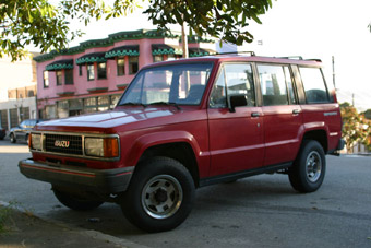 Isuzu Trooper: 5 фото