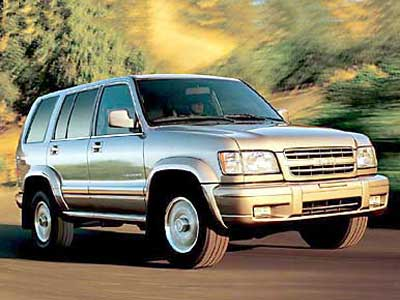Isuzu Trooper: 7 фото