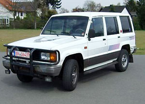 Isuzu Trooper: 11 фото