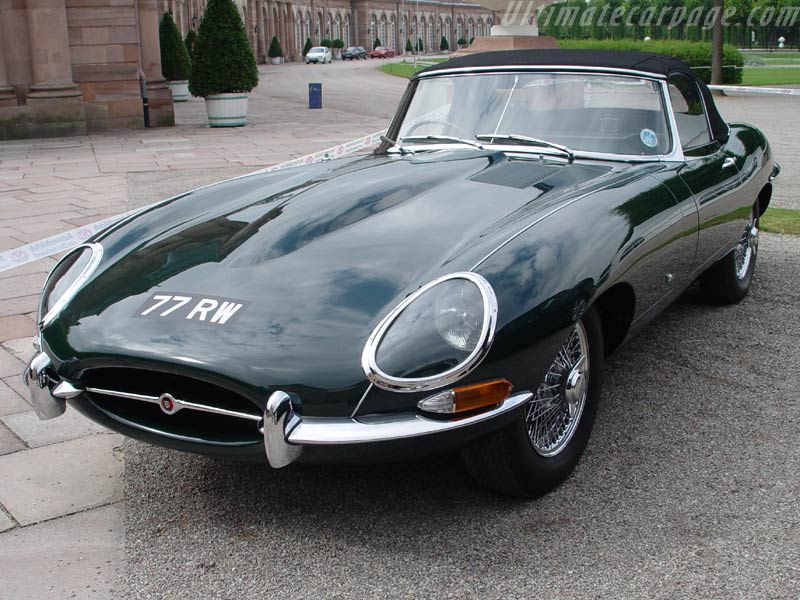 Jaguar E-Type: 8 фото