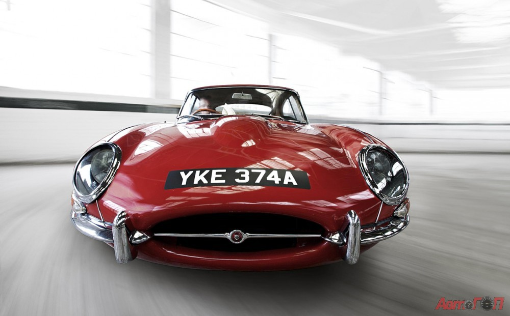 Jaguar E-Type: 9 фото