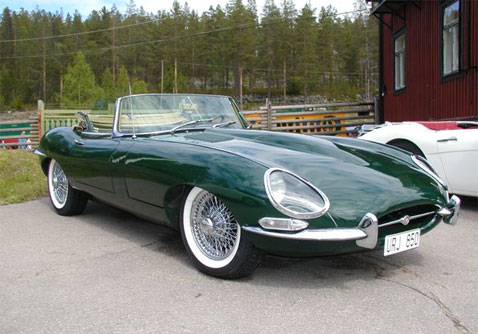 Jaguar E-Type: 10 фото