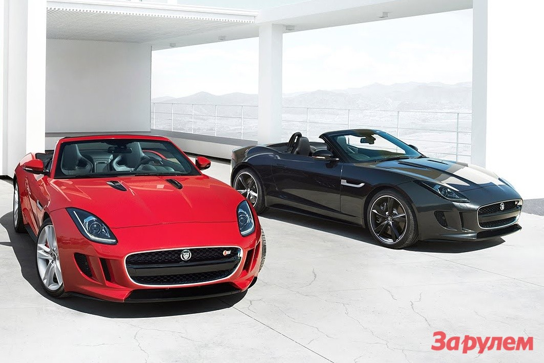 Jaguar F-Type: 02 фото