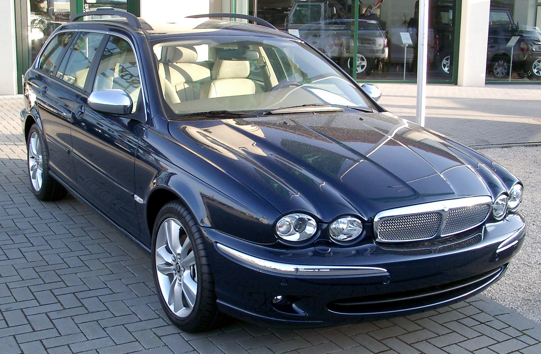 Jaguar X-Type Estate: 05 фото
