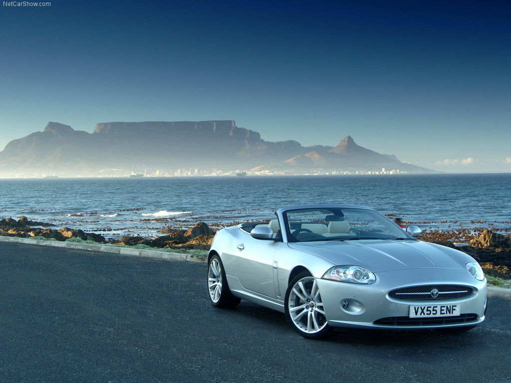 Jaguar XK Convertible - 1024 x 768, 02 из 14