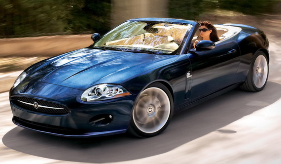 Jaguar XK Convertible: 9 фото