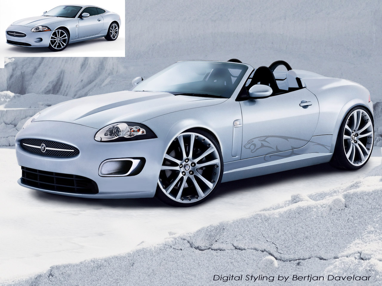 Jaguar XKR Convertible - 1280 x 960, 09 из 15