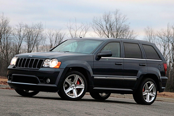 Jeep Grand Cherokee SRT8: 02 фото