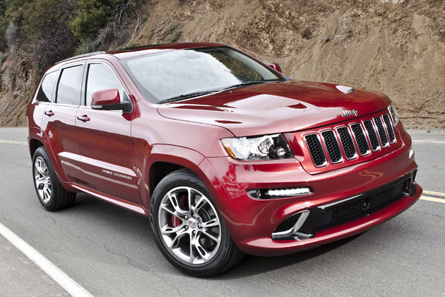 Jeep Grand Cherokee SRT8: 04 фото
