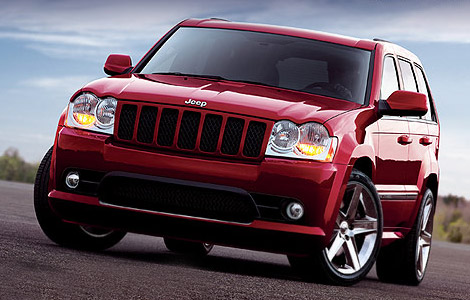 Jeep Grand Cherokee SRT8: 05 фото