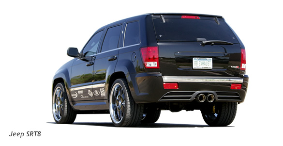 Jeep Grand Cherokee SRT8: 08 фото