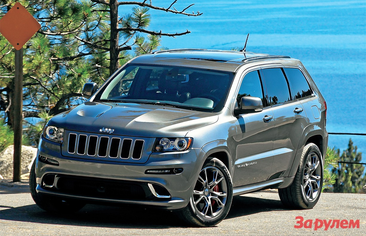 Jeep Grand Cherokee SRT8: 09 фото