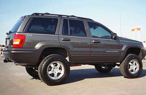 Jeep Grand Cherokee WJ: 01 фото