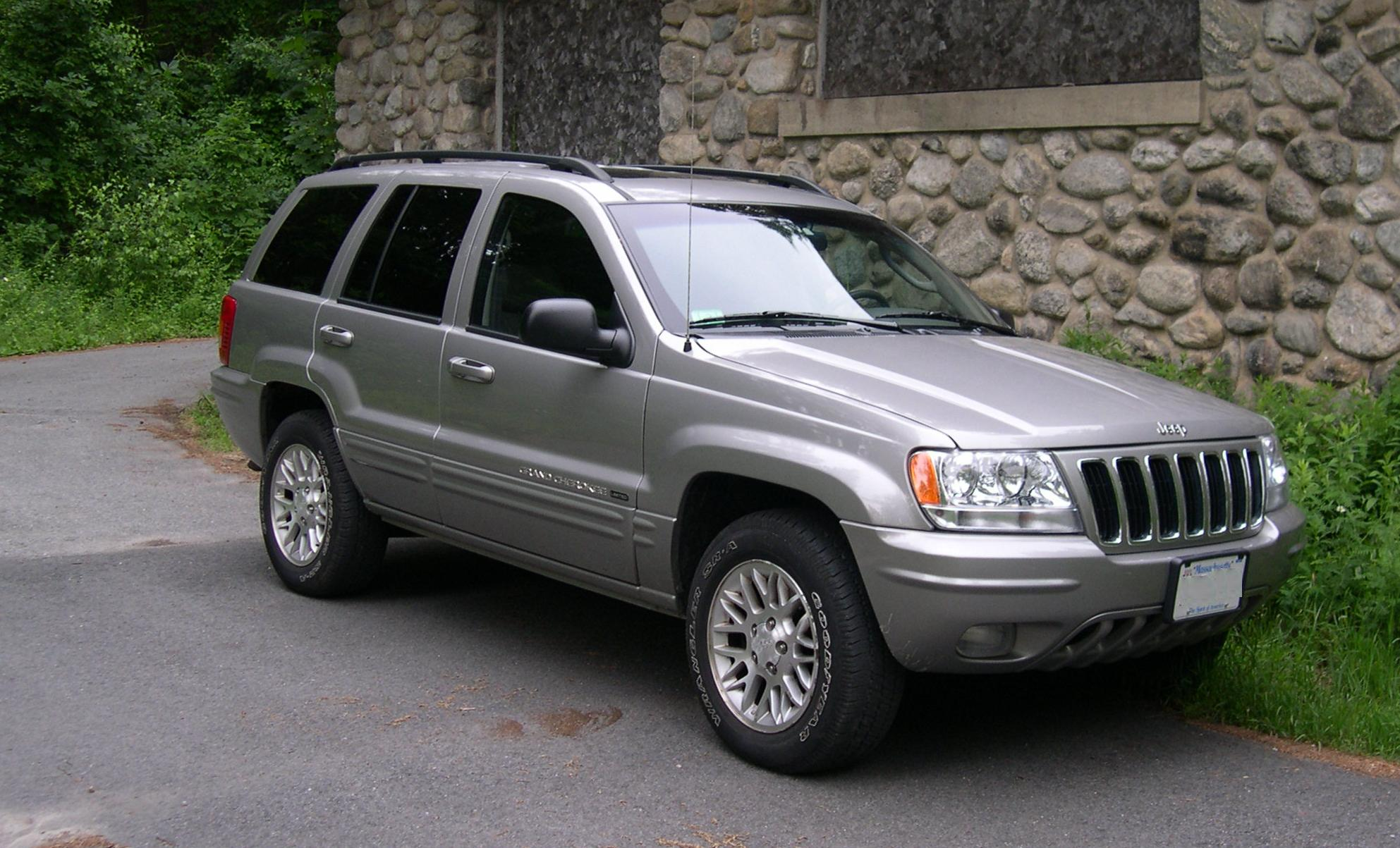 Jeep Grand Cherokee WJ: 02 фото