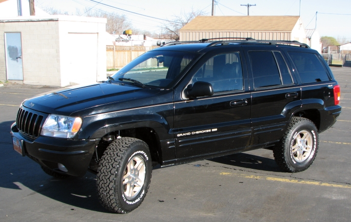 Jeep Grand Cherokee WJ: 04 фото