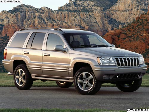 Jeep Grand Cherokee WJ: 07 фото