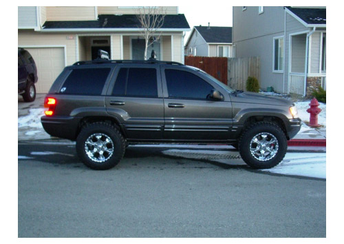 Jeep Grand Cherokee WJ: 08 фото