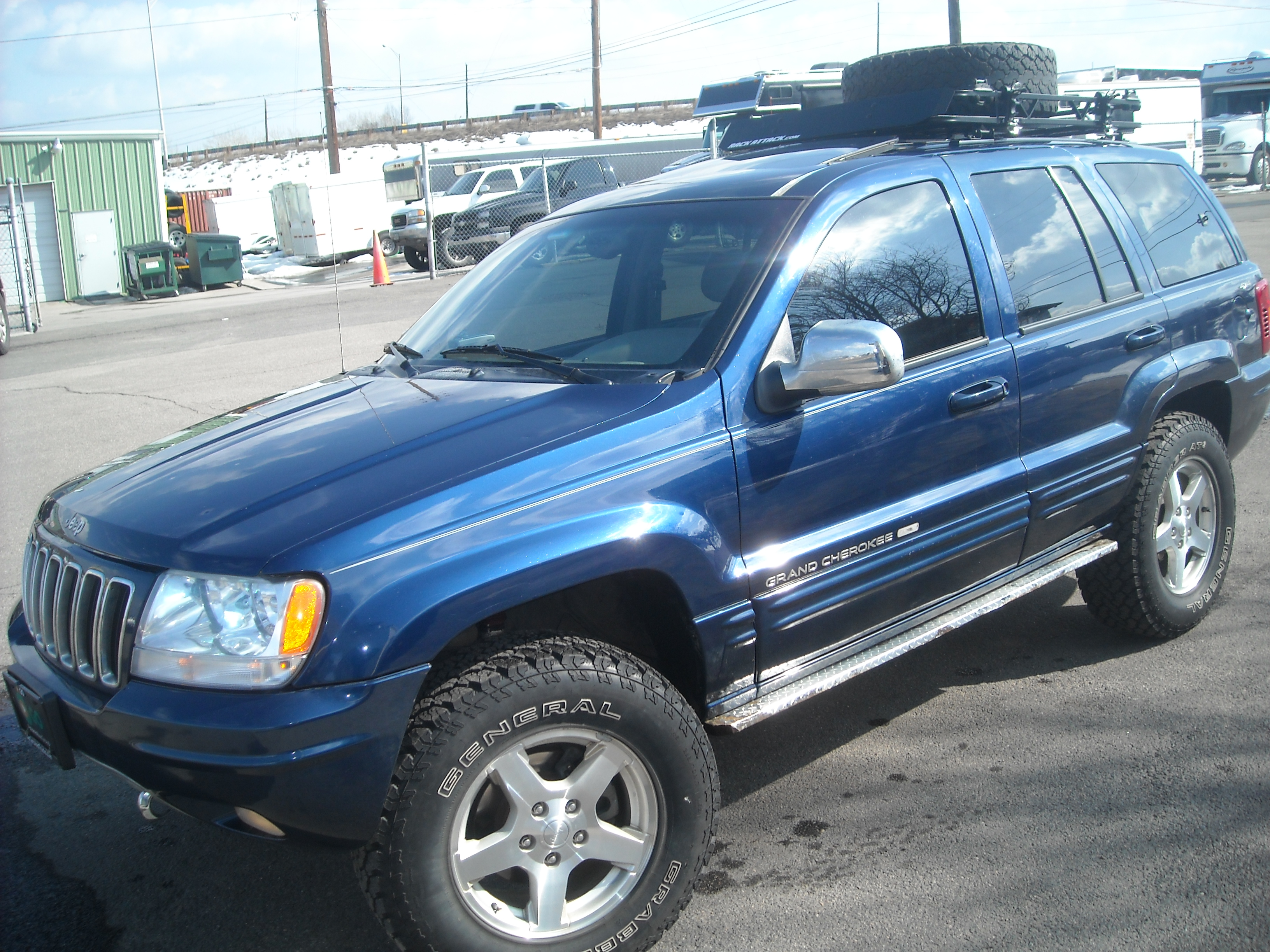 Jeep Grand Cherokee WJ: 09 фото