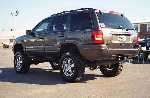 Jeep Grand Cherokee WJ: 10 фото