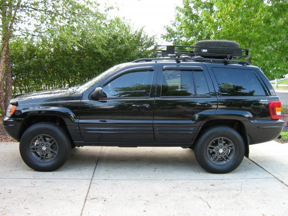 Jeep Grand Cherokee WJ: 12 фото