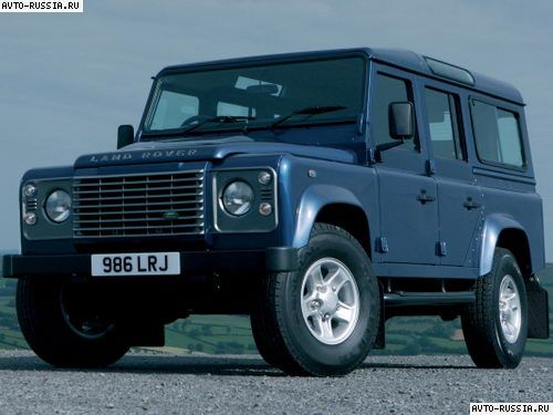 Land Rover Defender 110: 02 фото
