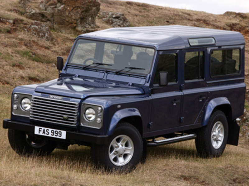 Land Rover Defender 110: 07 фото