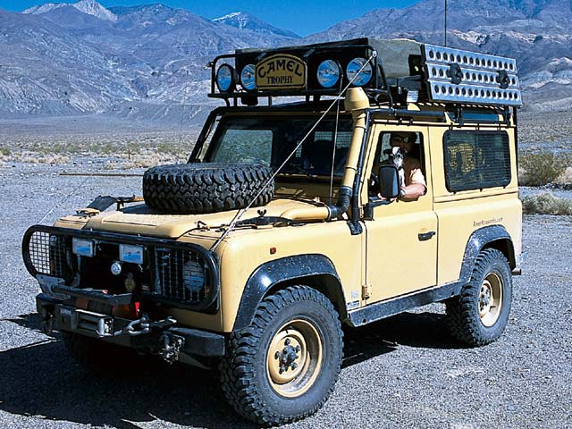 Land Rover Defender 90: 01 фото
