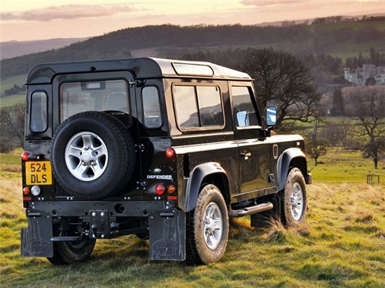 Land Rover Defender 90: 02 фото