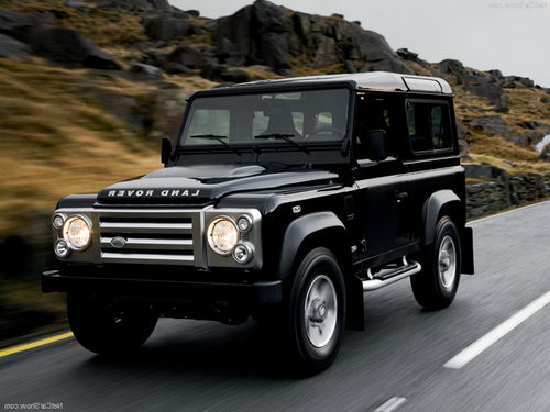 Land Rover Defender 90: 04 фото