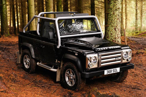 Land Rover Defender 90: 05 фото