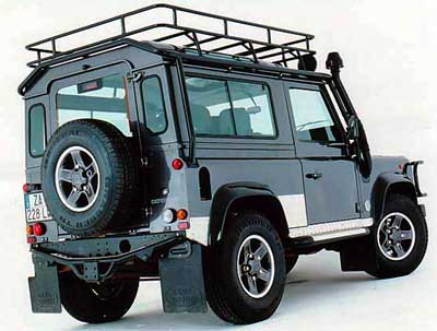 Land Rover Defender 90: 06 фото