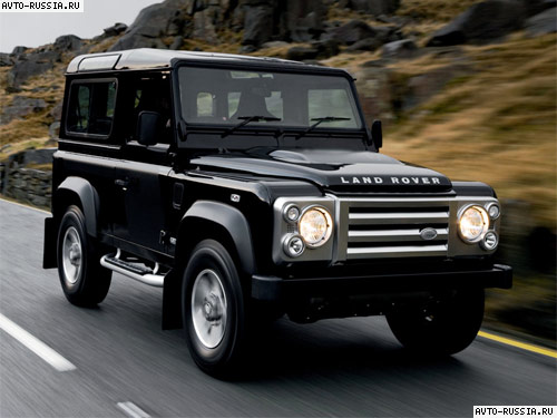 Land Rover Defender 90: 10 фото