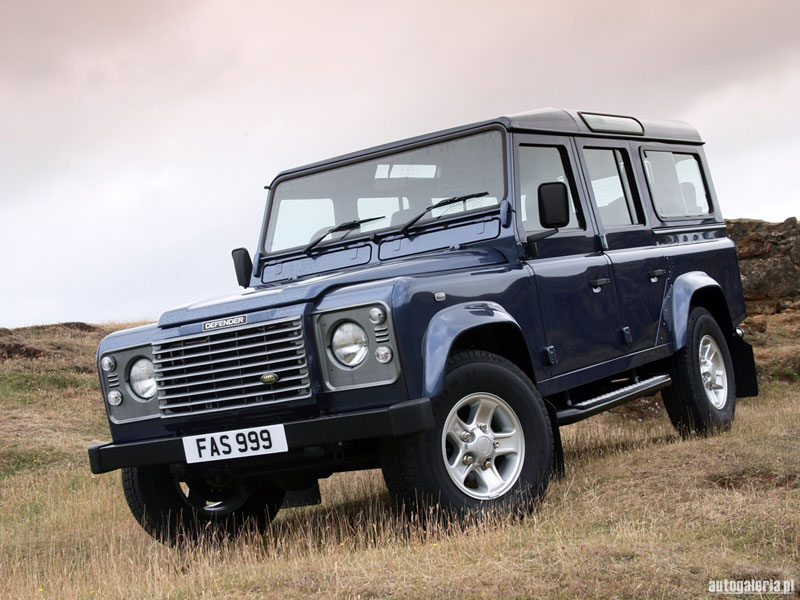 Land Rover Defender: 02 фото