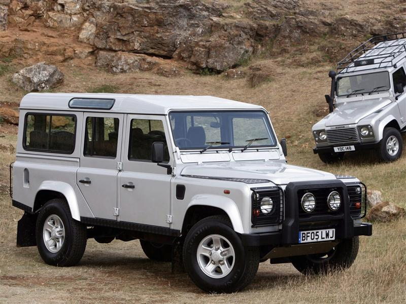 Land Rover Defender: 03 фото