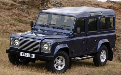 Land Rover Defender: 05 фото