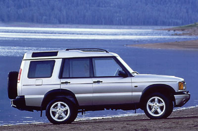 Land Rover Discovery II: 03 фото