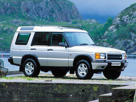 Land Rover Discovery II: 07 фото