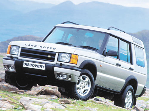 Land Rover Discovery II: 10 фото