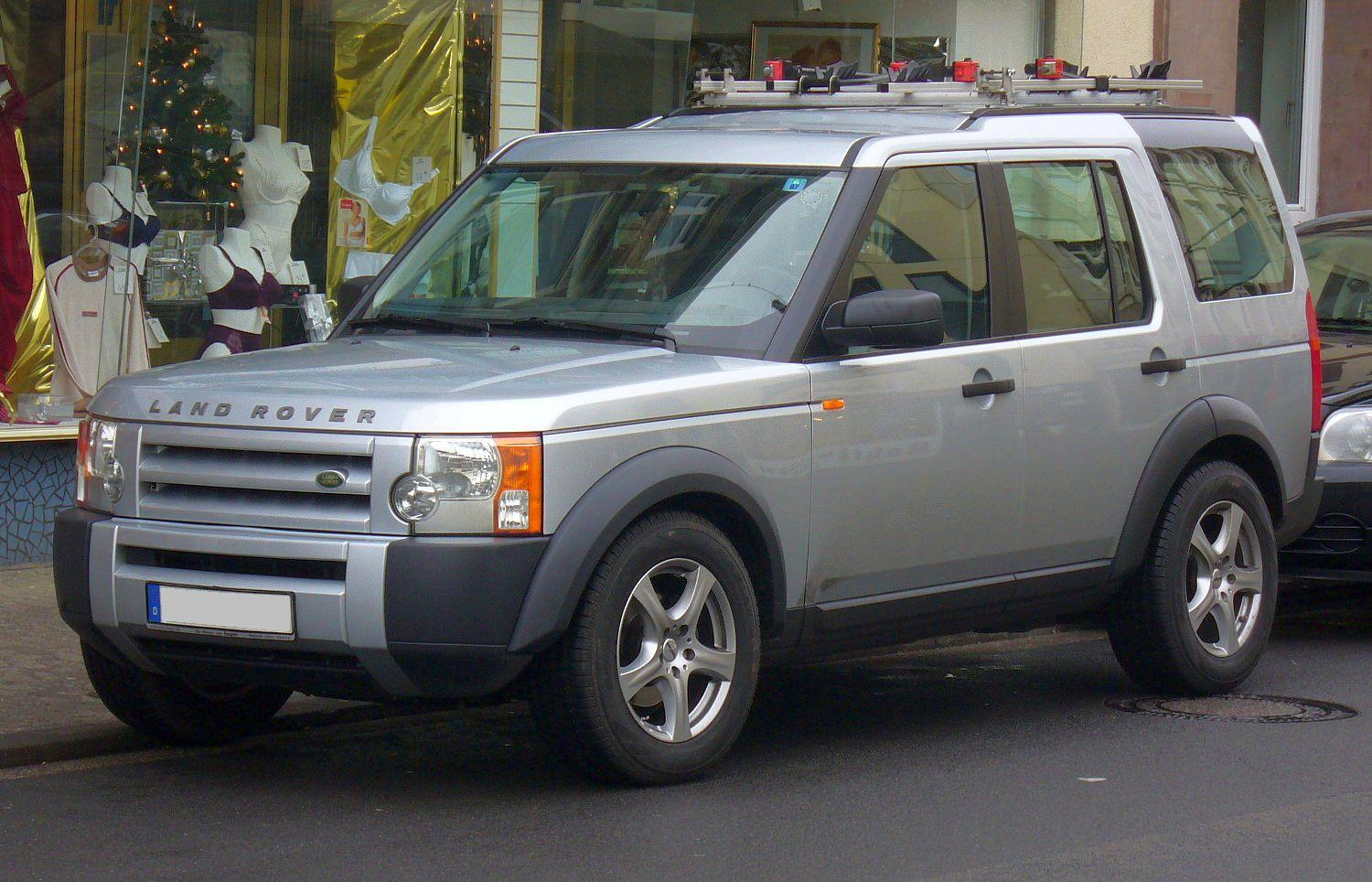 Land Rover Discovery III: 01 фото