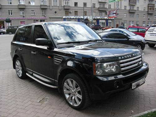 Land Rover Range Rover Sport: 12 фото