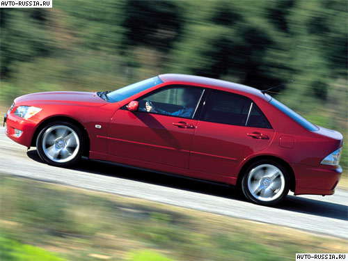 Lexus IS I: 11 фото