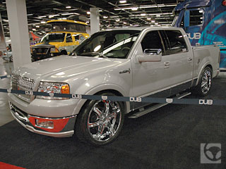 Lincoln Mark LT: 9 фото