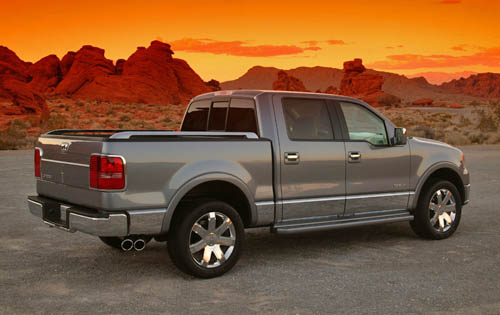 Lincoln Mark LT: 11 фото