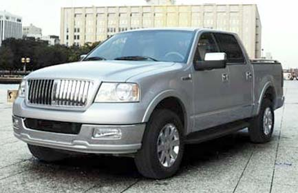 Lincoln Mark LT: 12 фото