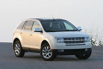 Lincoln MKX: 07 фото