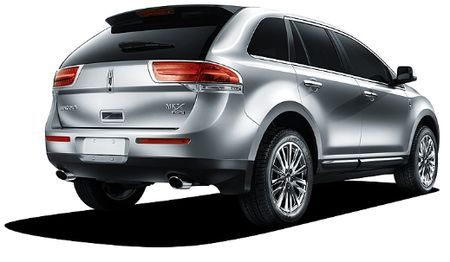 Lincoln MKX: 11 фото