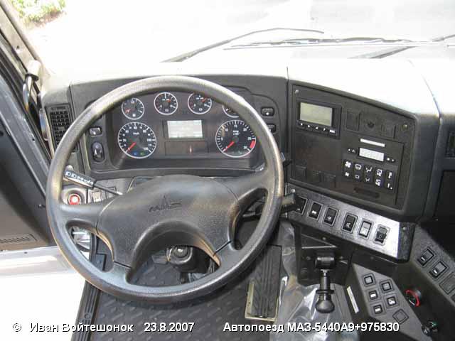 МАЗ 5440: История модели, фотогалерея и список модификаций.