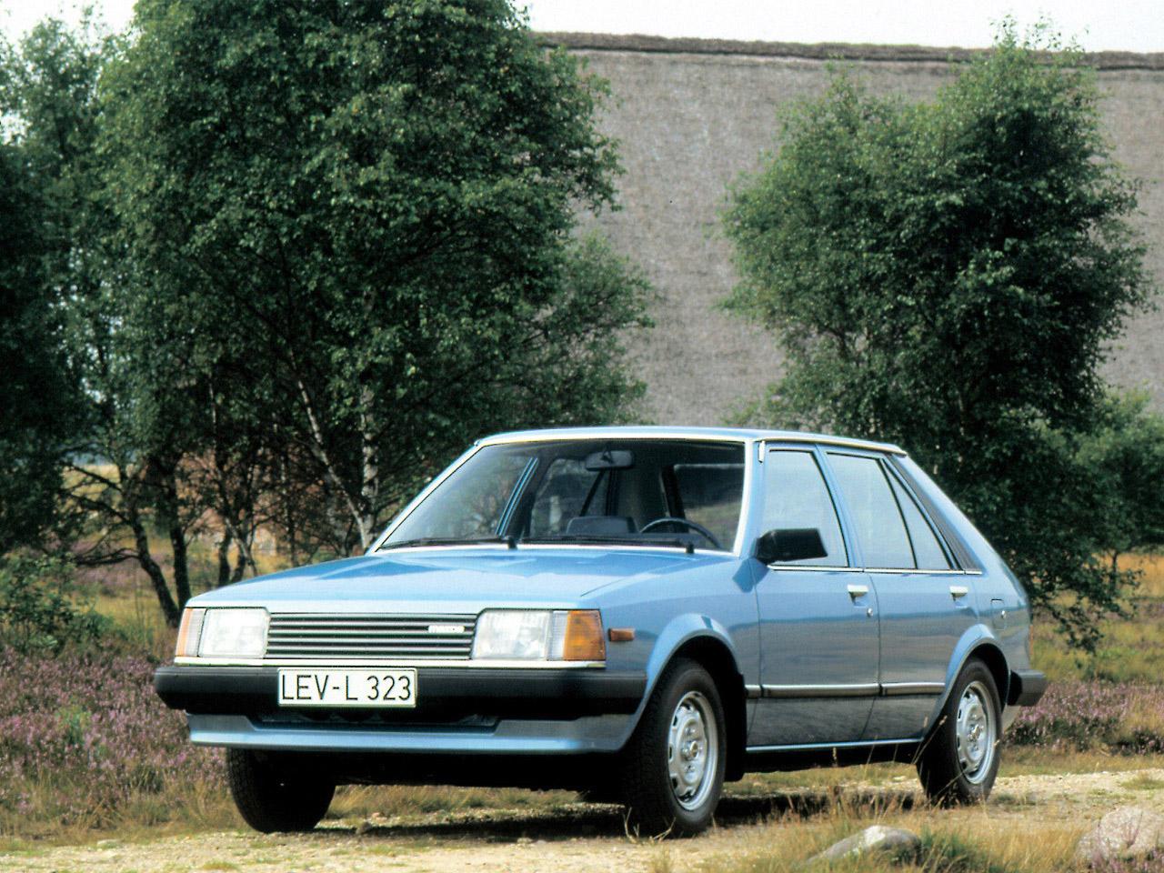 mazda 323 ii 1980 г.в. поколение bdфото