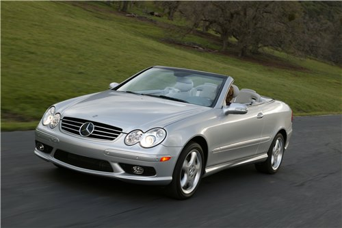 Mercedes-Benz CLK: 06 фото
